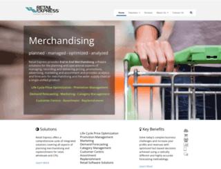 retailexpress.com screenshot