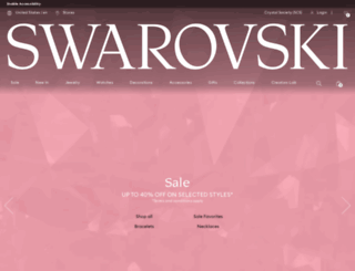 retailpartner.swarovski.com screenshot