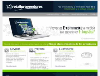 retailproveedores.com screenshot