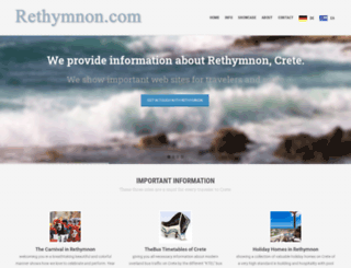 rethymnon.com screenshot