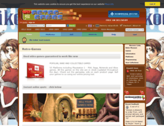 retro-games.co.uk screenshot