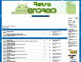 retroandroid.forumeiros.com screenshot