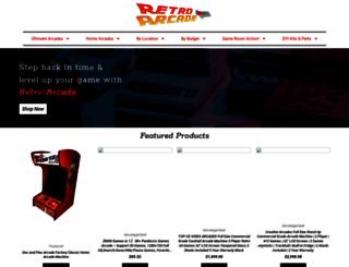 retroarcade.com screenshot