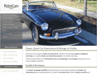 retrocars-services.com screenshot