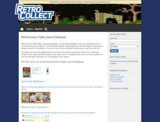retrocollect.com screenshot