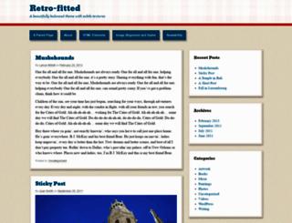 retrofitteddemo.wordpress.com screenshot