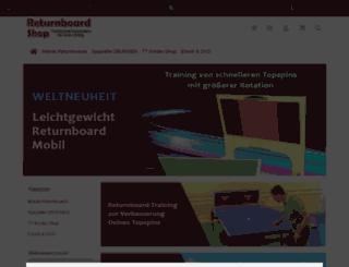 returnboard-shop.de screenshot
