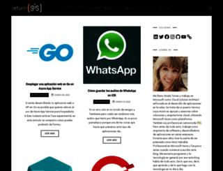 returngis.net screenshot