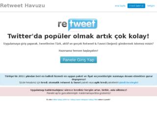 retweethavuzu.com screenshot