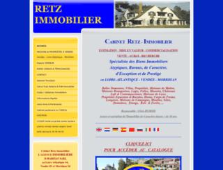 retz-immobilier.com screenshot