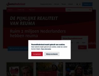reumafonds.nl screenshot