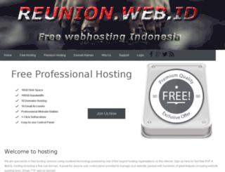 reunion.web.id screenshot