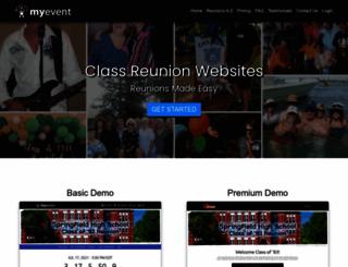 reunions.myevent.com screenshot