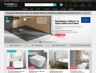 reuter-badshop.de screenshot
