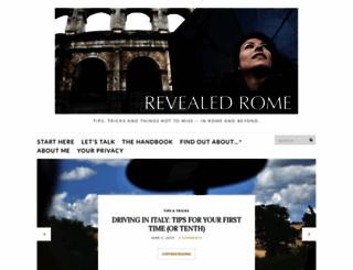 revealedrome.com screenshot