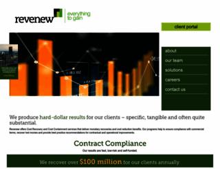revenew.net screenshot