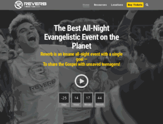 reverbnight.com screenshot