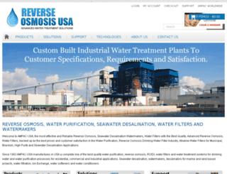 reverseosmosisusa.com screenshot