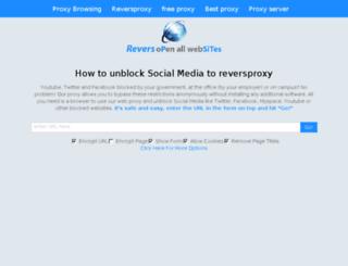 reversproxy.com screenshot