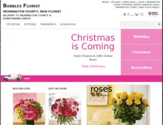 review.bubblesflorist.com.au screenshot