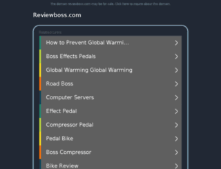 reviewboss.com screenshot