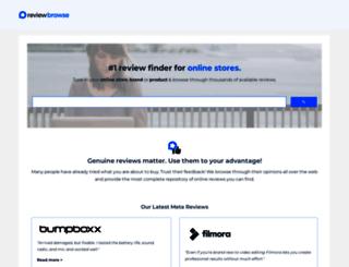 reviewbrowse.com screenshot