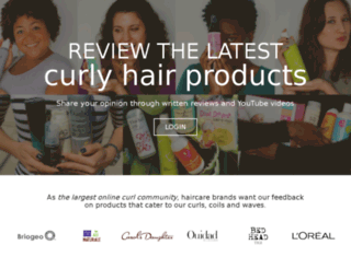 reviewers.naturallycurly.com screenshot