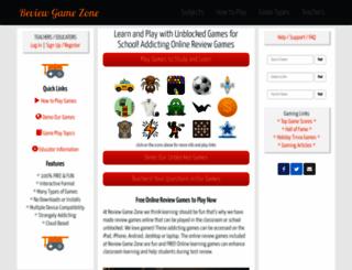 reviewgamezone.com screenshot