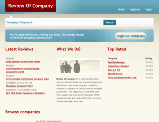 reviewofcompany.com screenshot