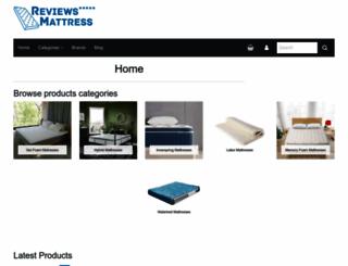 reviews-mattress.com screenshot
