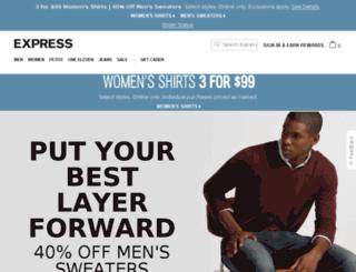 reviews.express.com screenshot