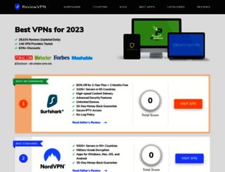 reviewvpn.com screenshot