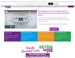 revisewise.ie screenshot