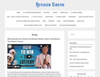 revisioncinema.com screenshot