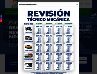 revisiontecnicomecanica-itac.com screenshot