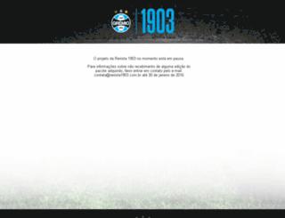 revista1903.com.br screenshot