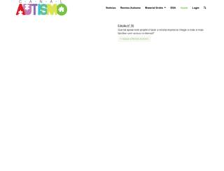 revistaautismo.com.br screenshot