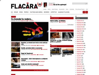 revistaflacara.ro screenshot