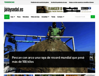 revistajaraysedal.es screenshot