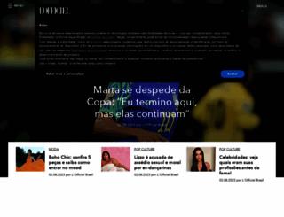 revistalofficiel.com.br screenshot