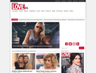 revistalove.es screenshot