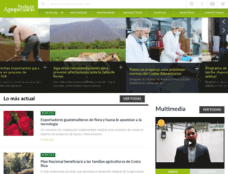 revistaproagro.com screenshot