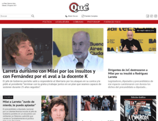 revistaque.com screenshot