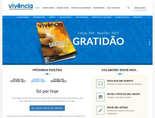 revistavivencia.org.br screenshot