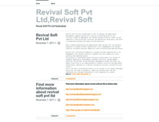 revivalsoftpvtltd7.wordpress.com screenshot