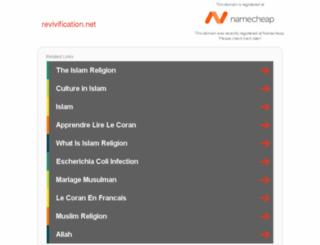 revivification.net screenshot
