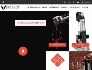 revolution-coravin.fr screenshot