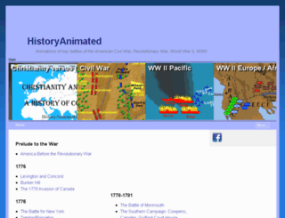 revolutionarywaranimated.com screenshot