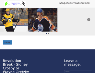 revolutionbreak.com screenshot