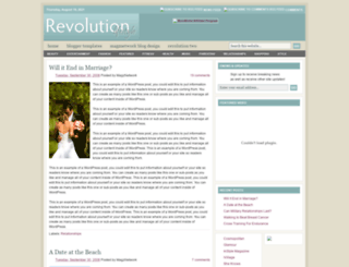 revolutionlifestyleblogtemplate.blogspot.com screenshot